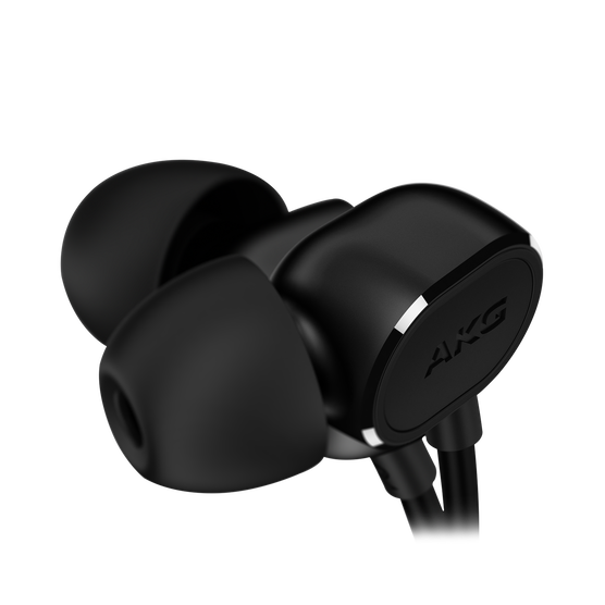 N20U - Black - Reference class in-ear headphones with universal 3 button remote. - Detailshot 4